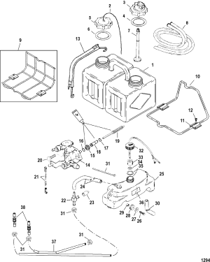 Oil Injection Components FOR MARINER  MERCURY 135140150