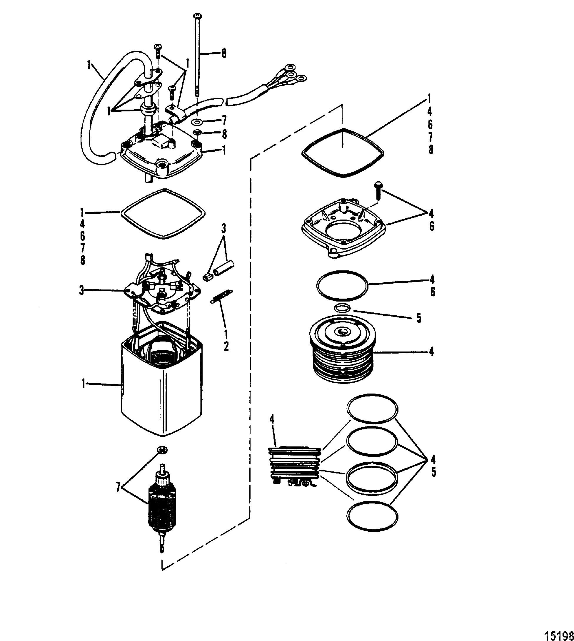 Outboard Motor Parts Diagram