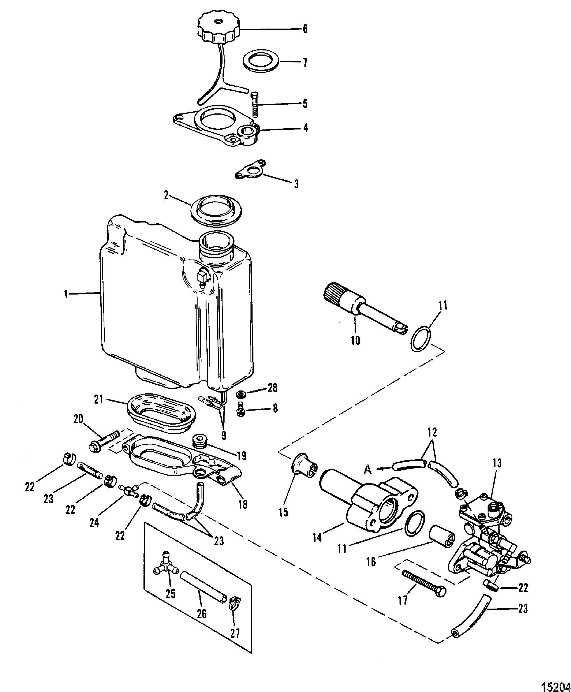 Diagram Of Mercury Outboard Motor