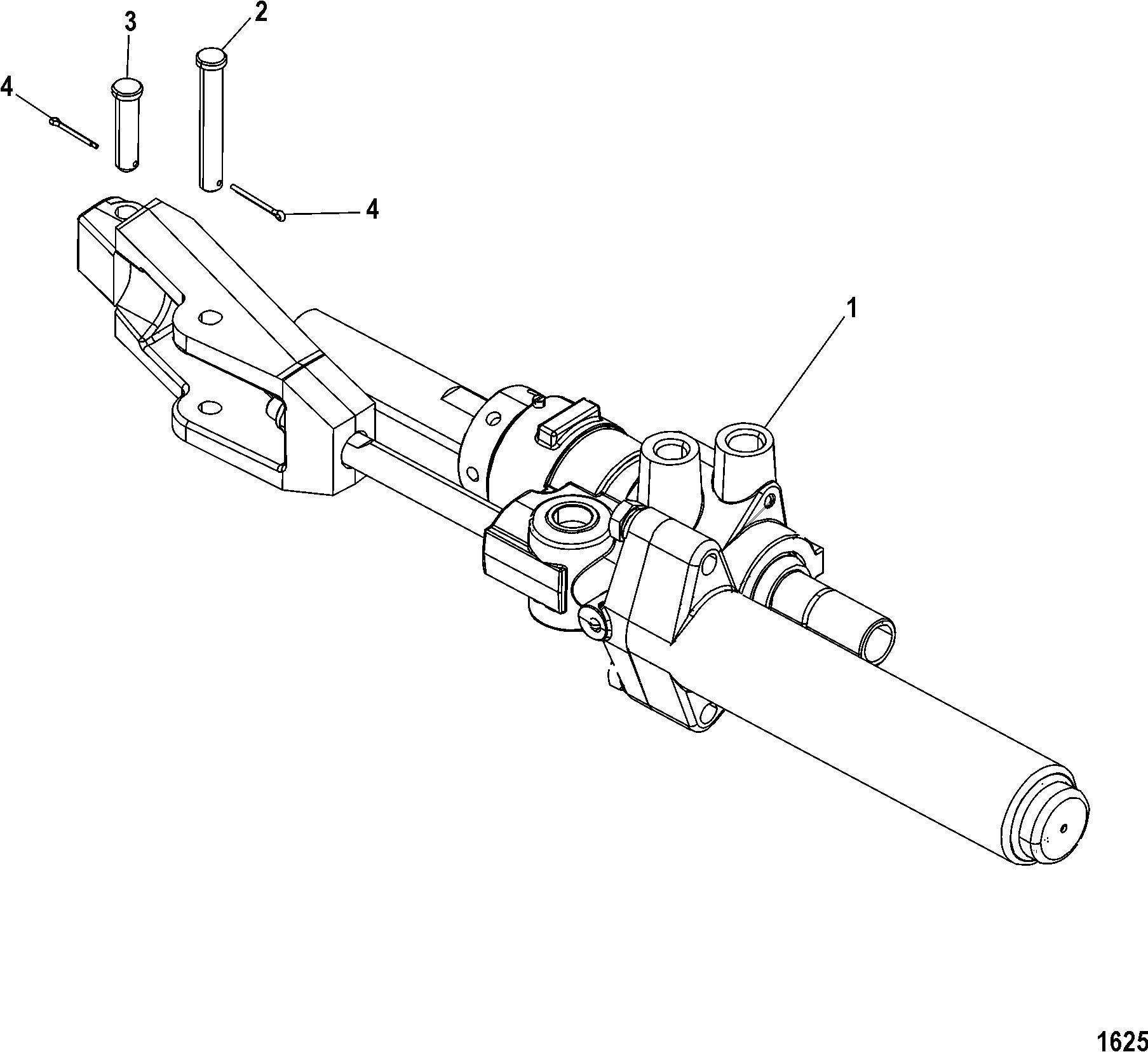 Power Steering For Mercruiser Alpha One Gen Ii Sterndrive