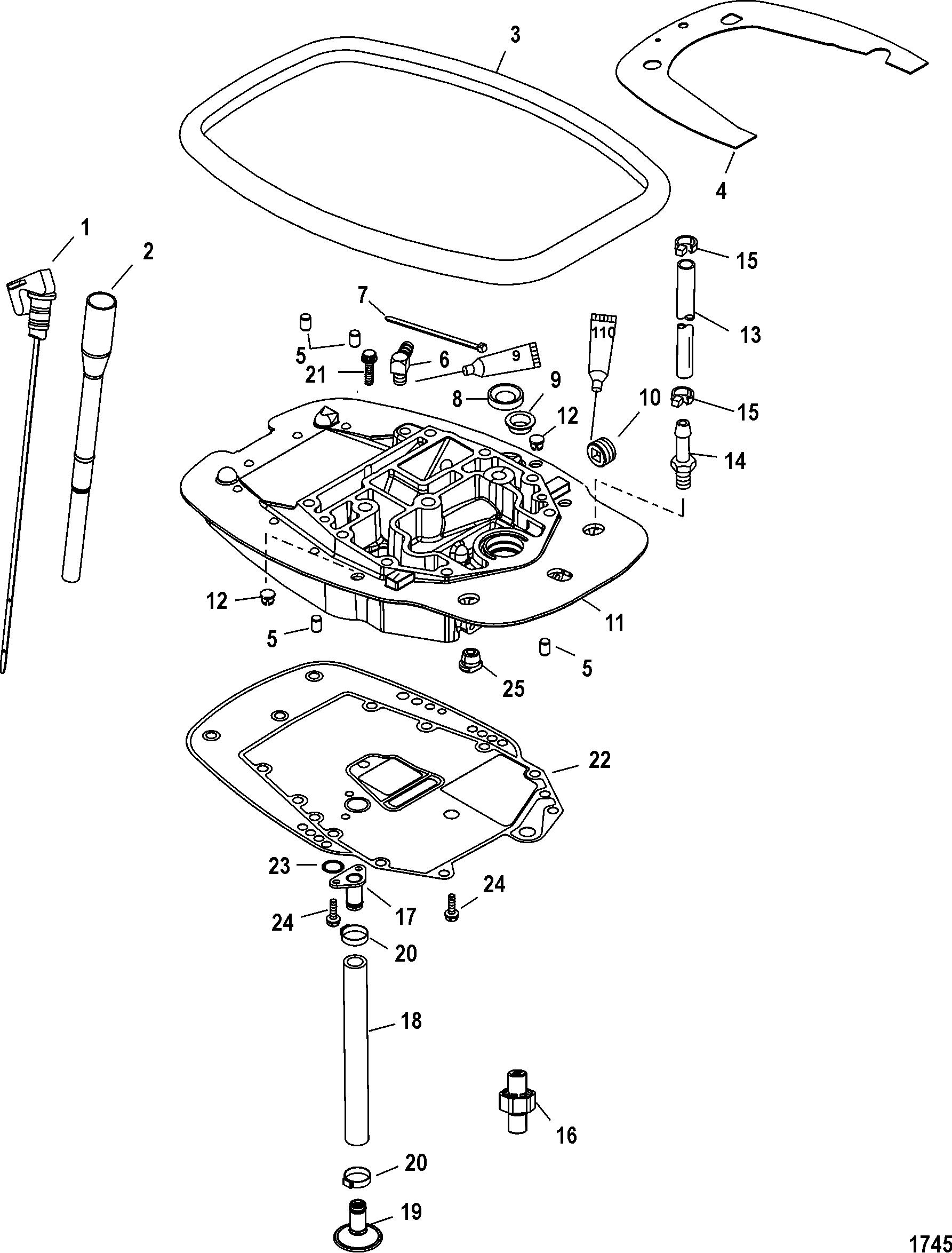 Adaptor Plate For Mariner Mercury 40 50 60 Efi 4