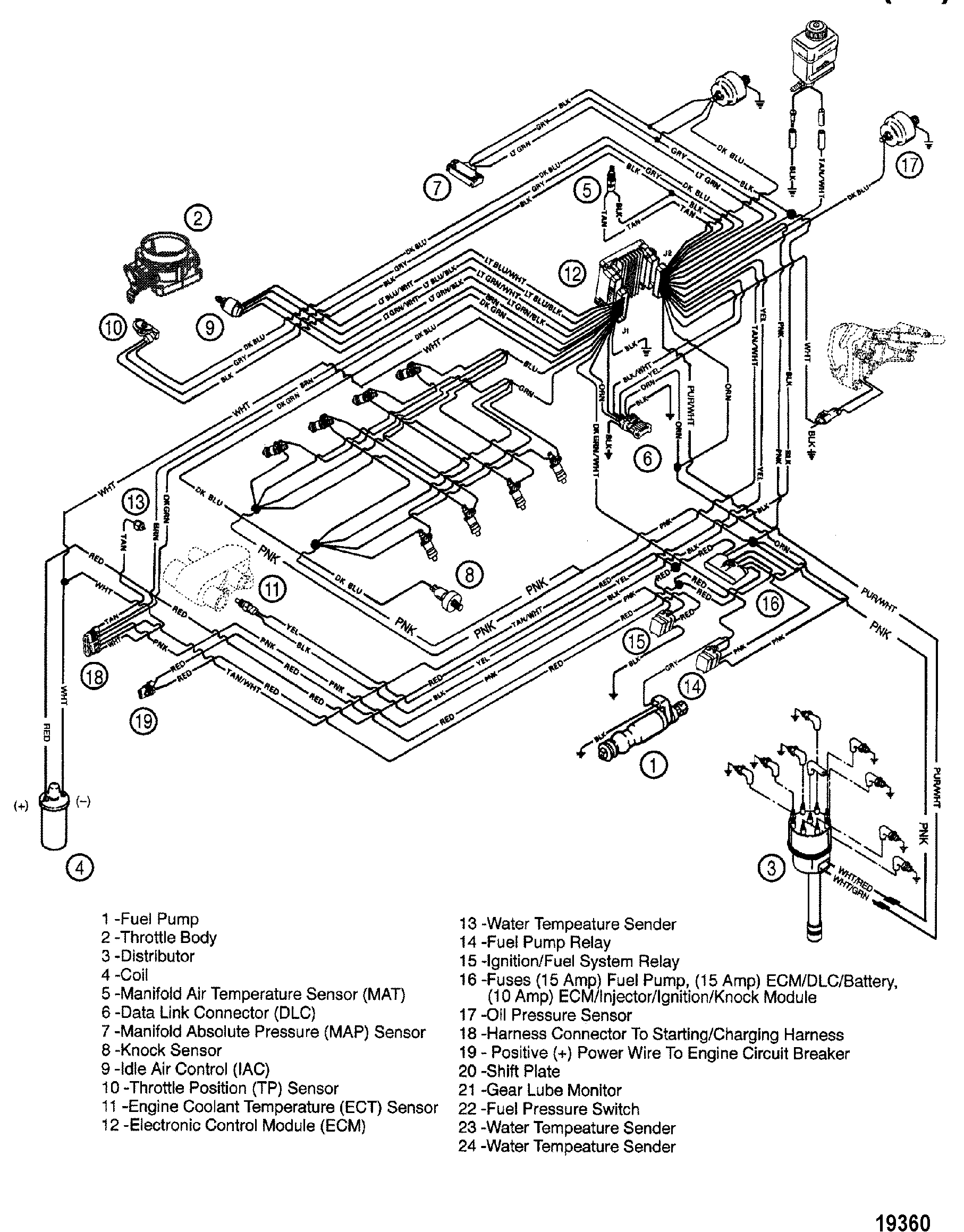Mercruiser 350 Mag Mpi Engine Diagram Engine Auto Parts
