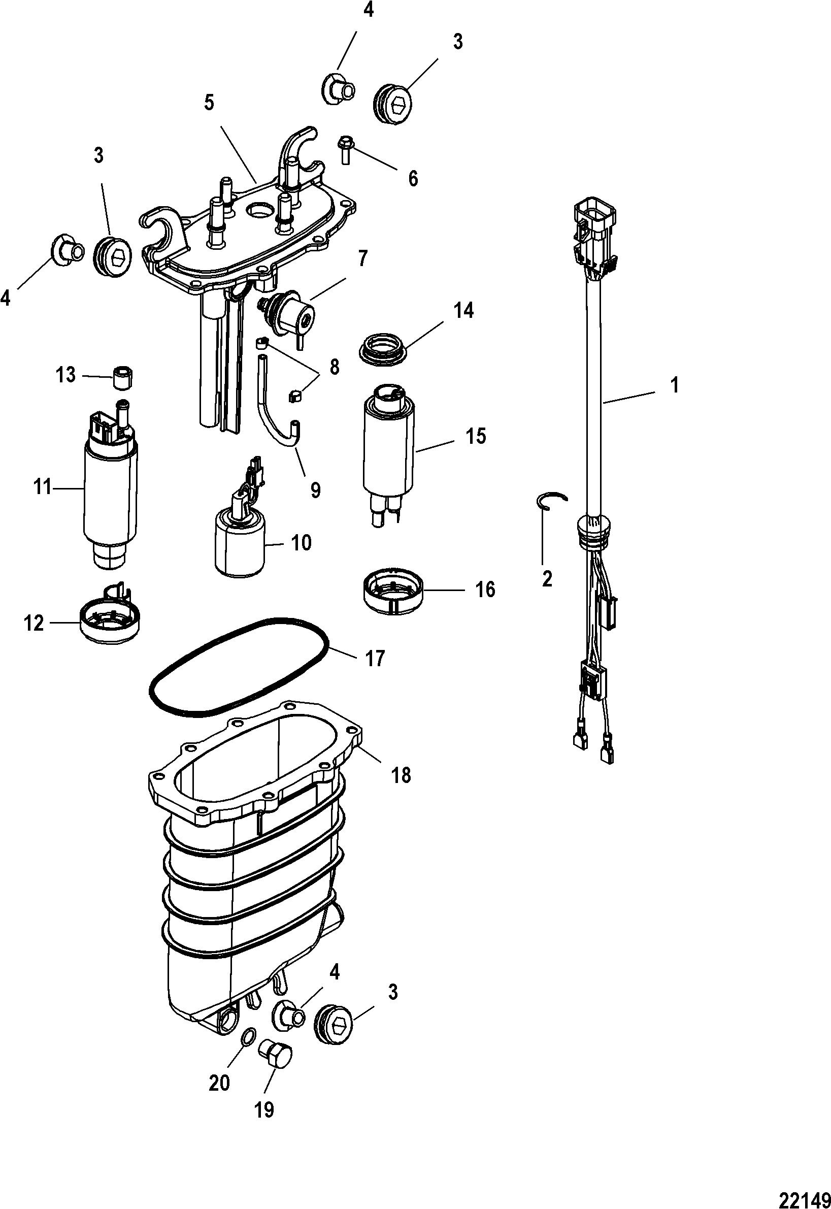 90 Hp Mercury Alarm Module Wiring Diagram