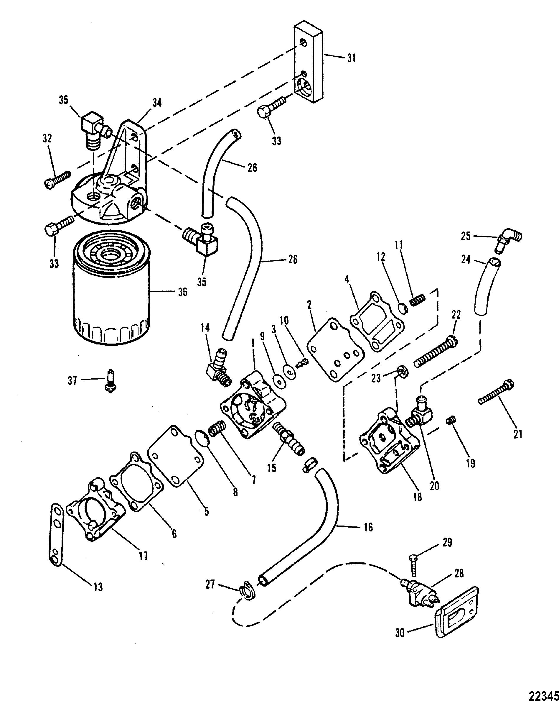 Wrg 200 Hp Mercury Fuel Filters