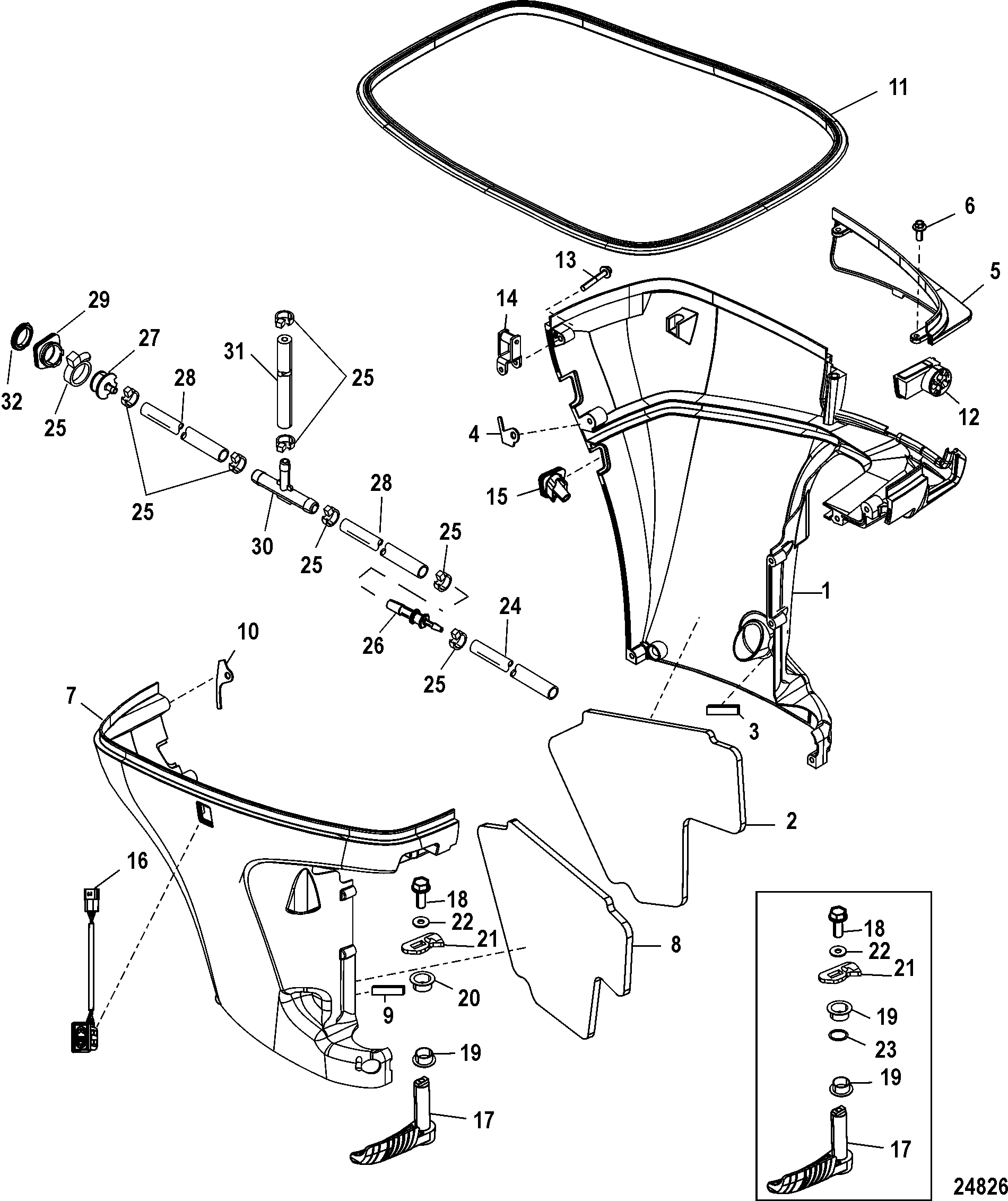 85 Horsepower Mercury Outboard Diagram