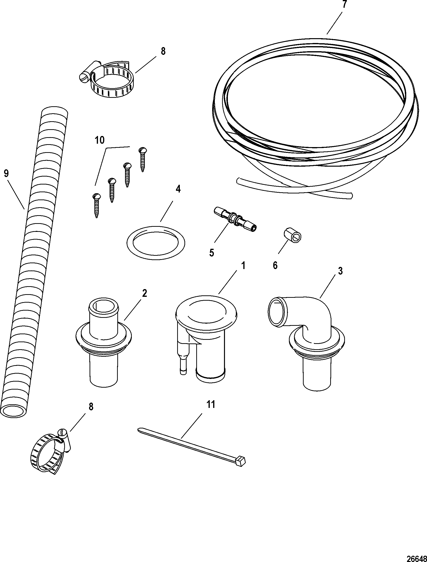 Deck Oil Fill Kit A09 10 11 13 For Fuel Oil Tanks