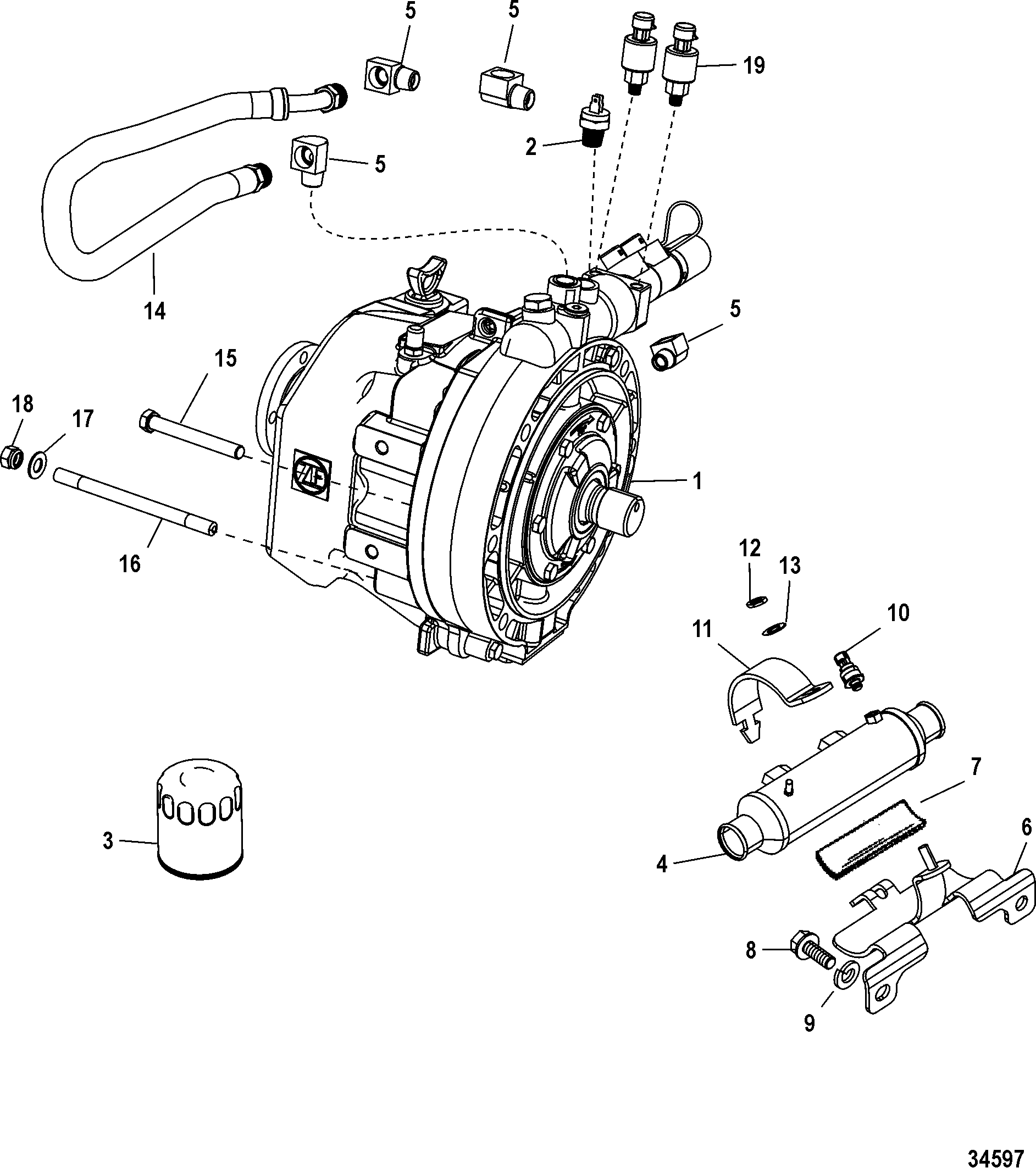 Transmission And Related Parts Zf