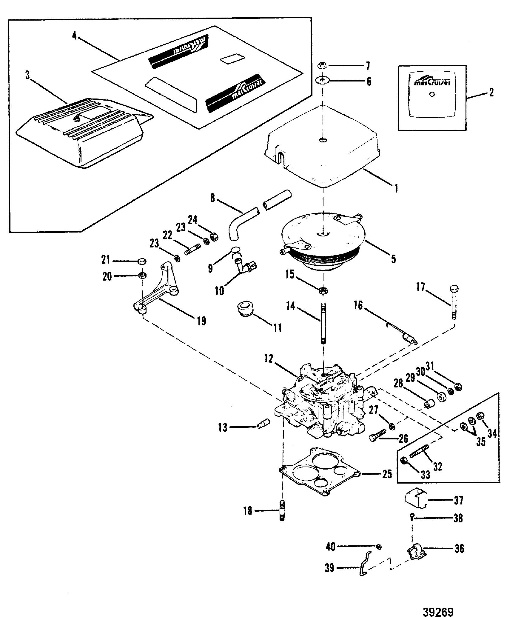Carburetor And Throttle Linkage 205