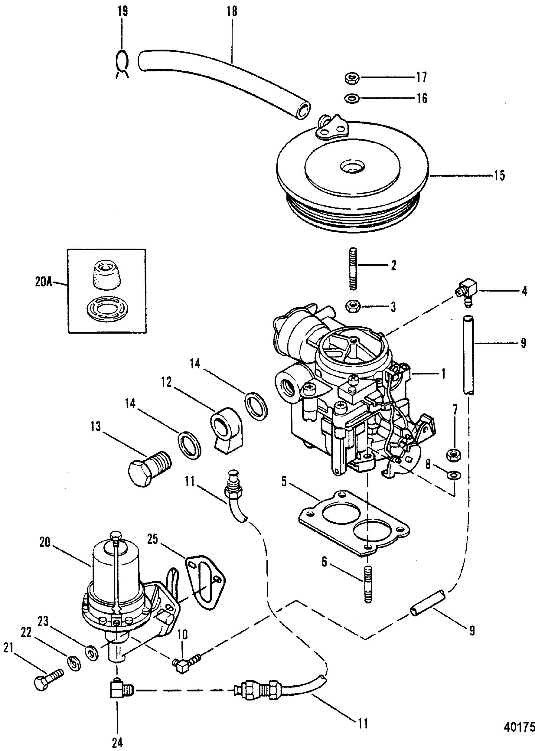 470 Mercruiser Fuel Filter