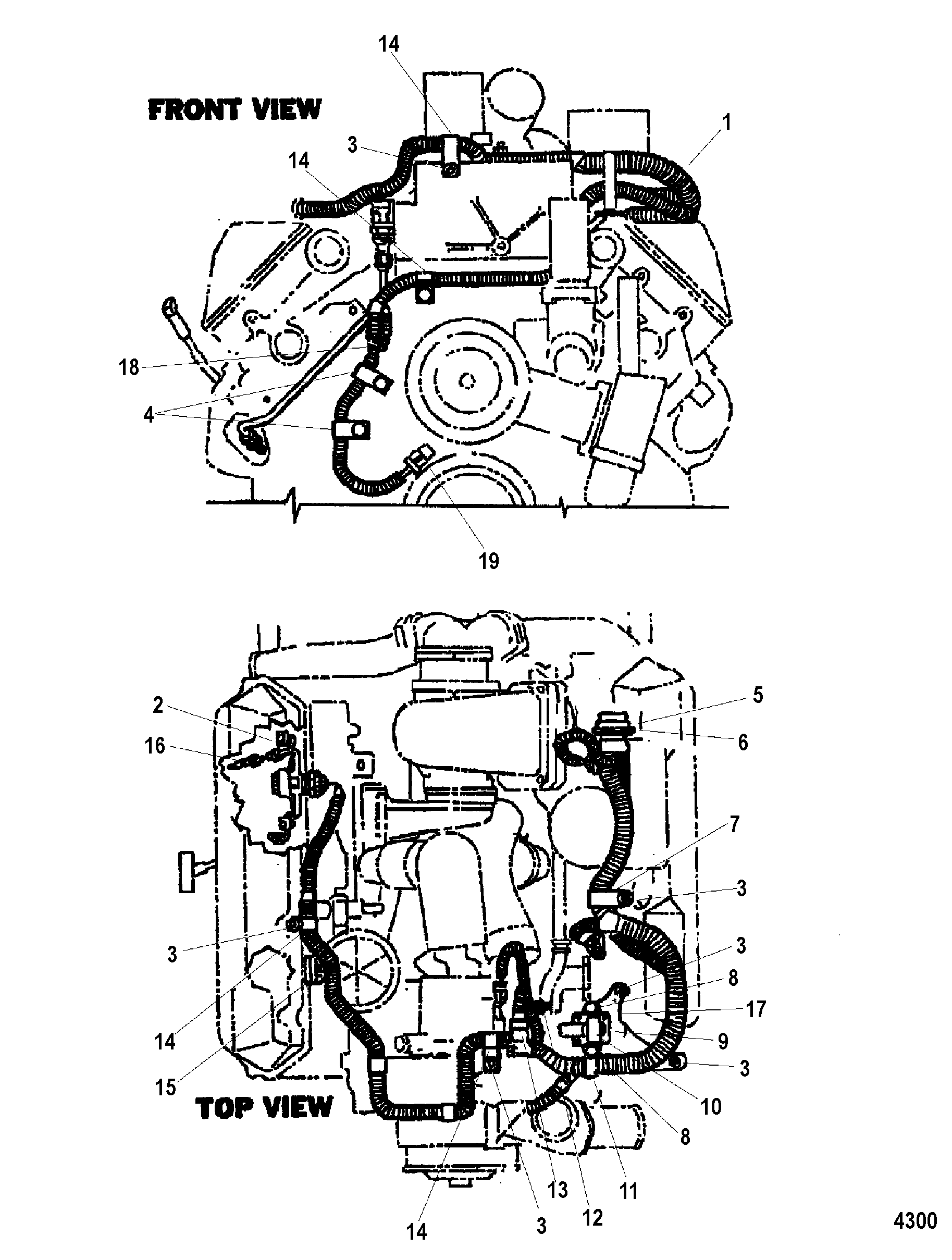 Dodge Engine Wiring Harnes