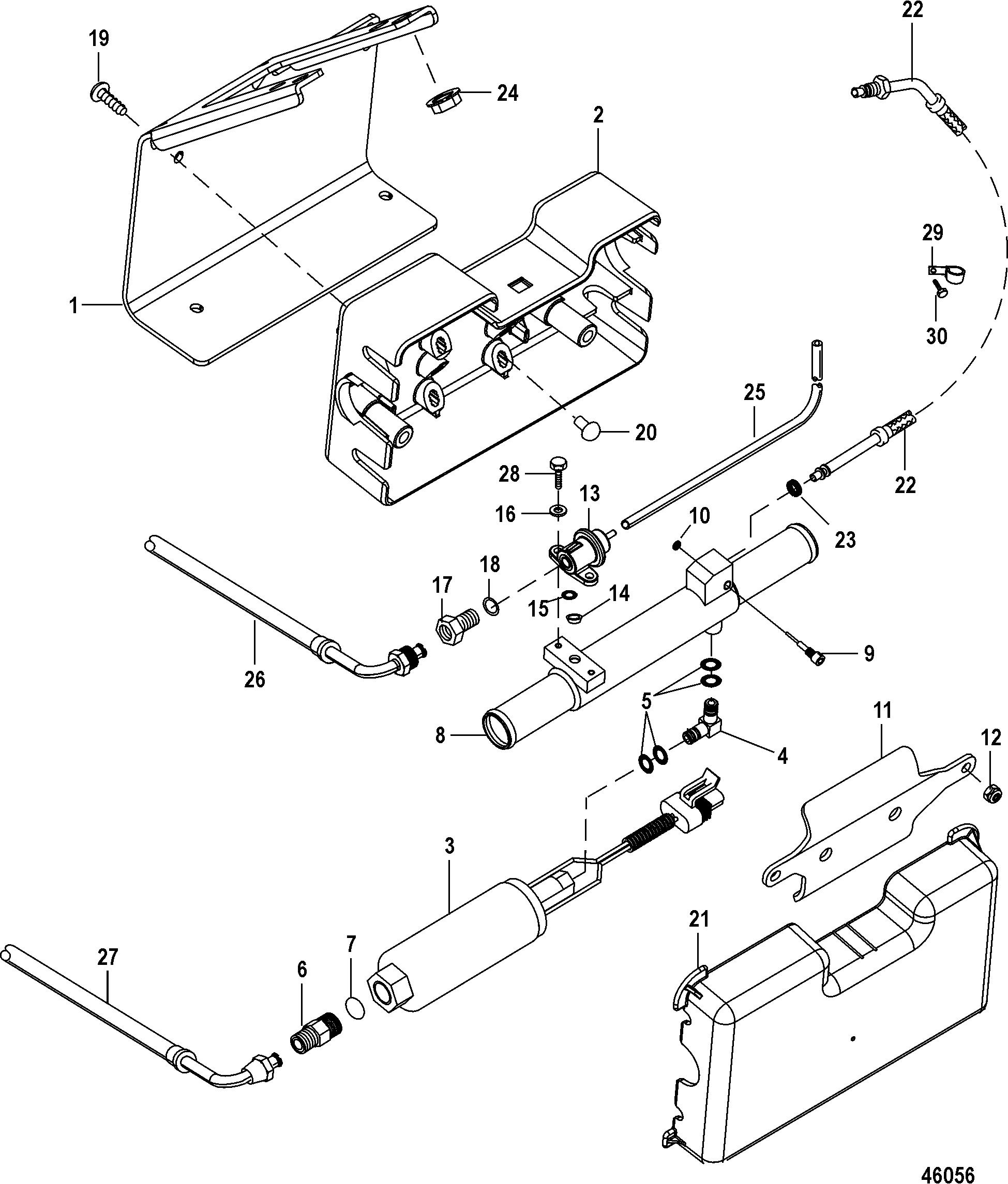 mercruiser cooling system alpha 3 0