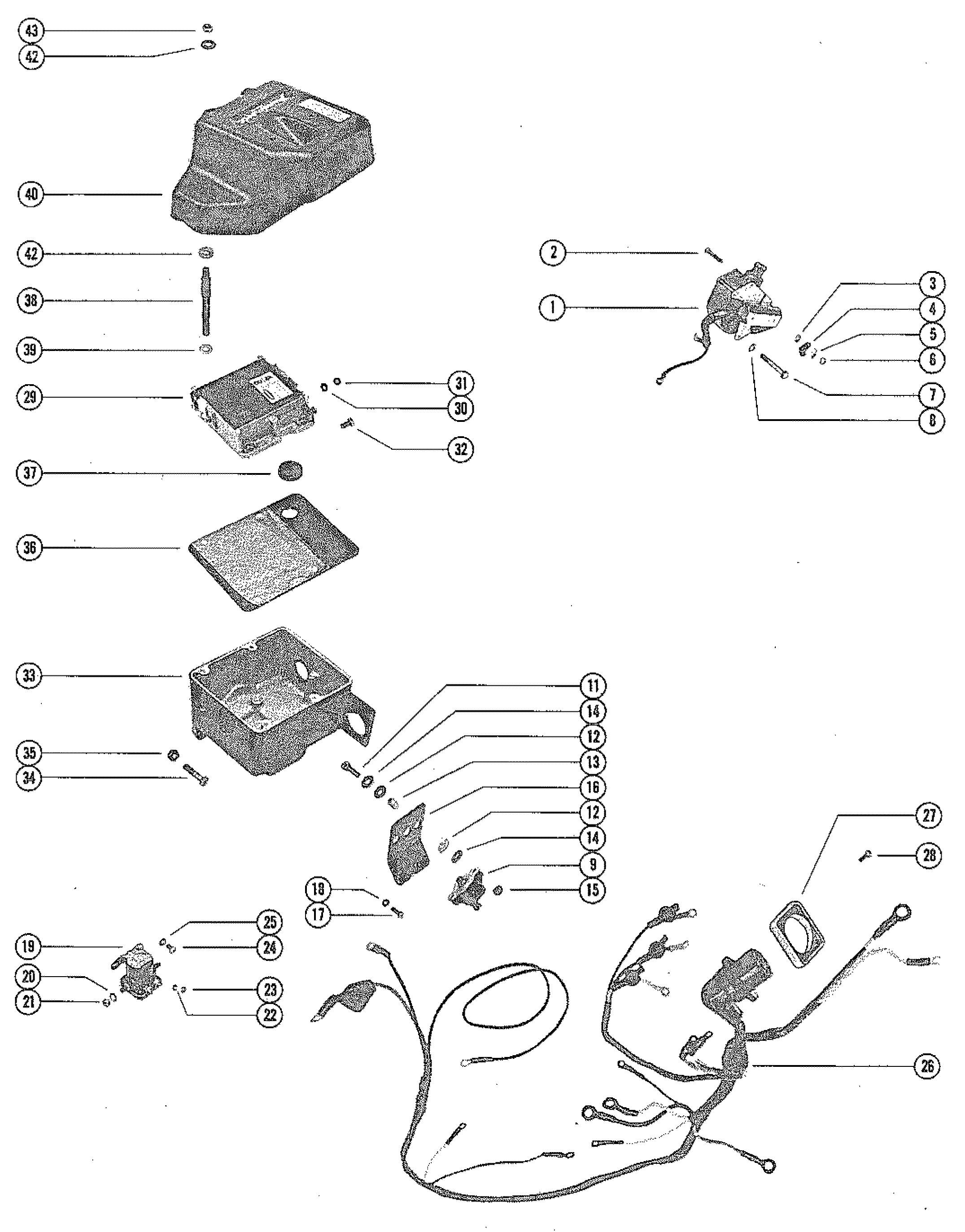 454 Mercruiser Wiring Diagram