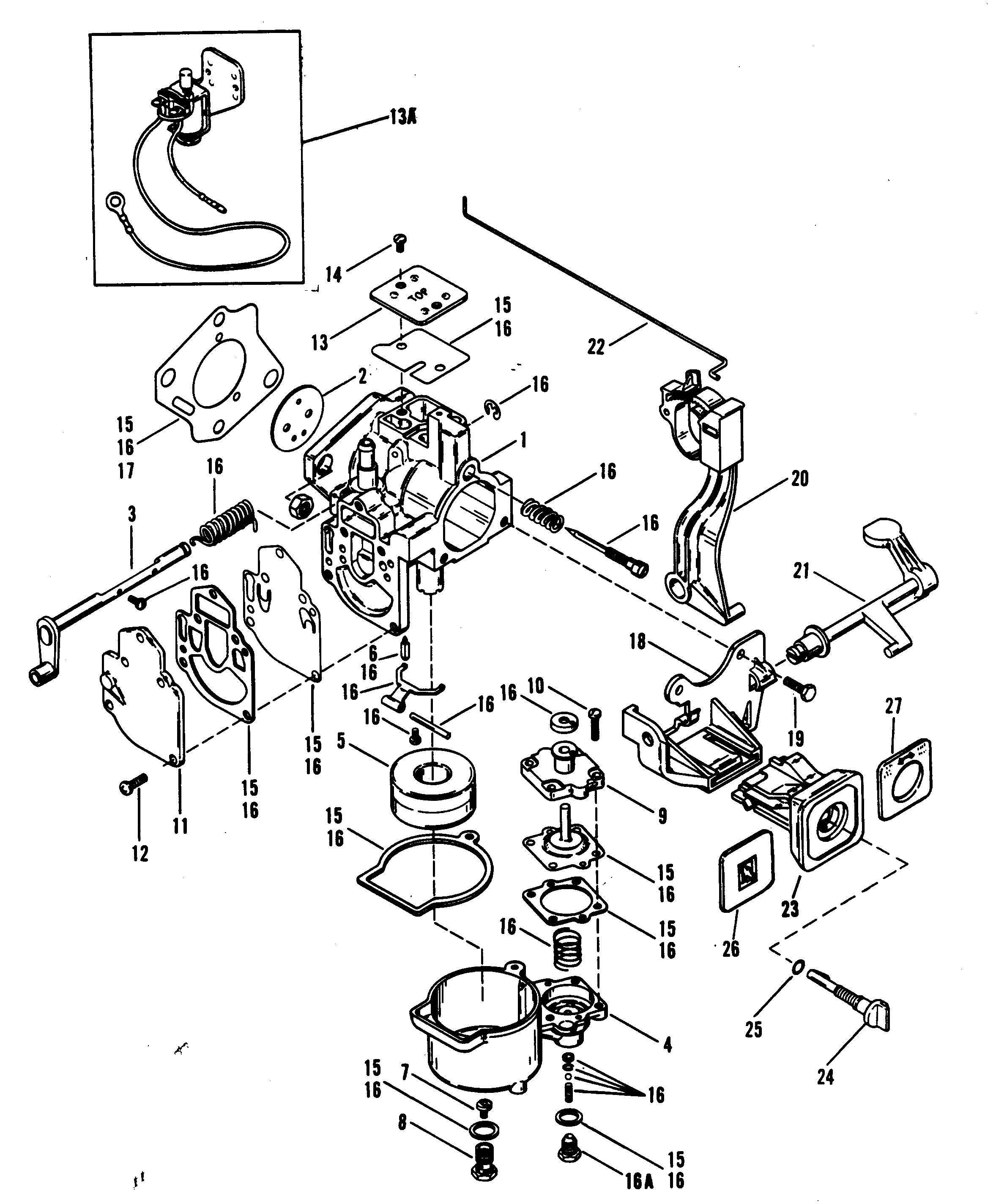 Toyota Pickup Carburetor Diagram