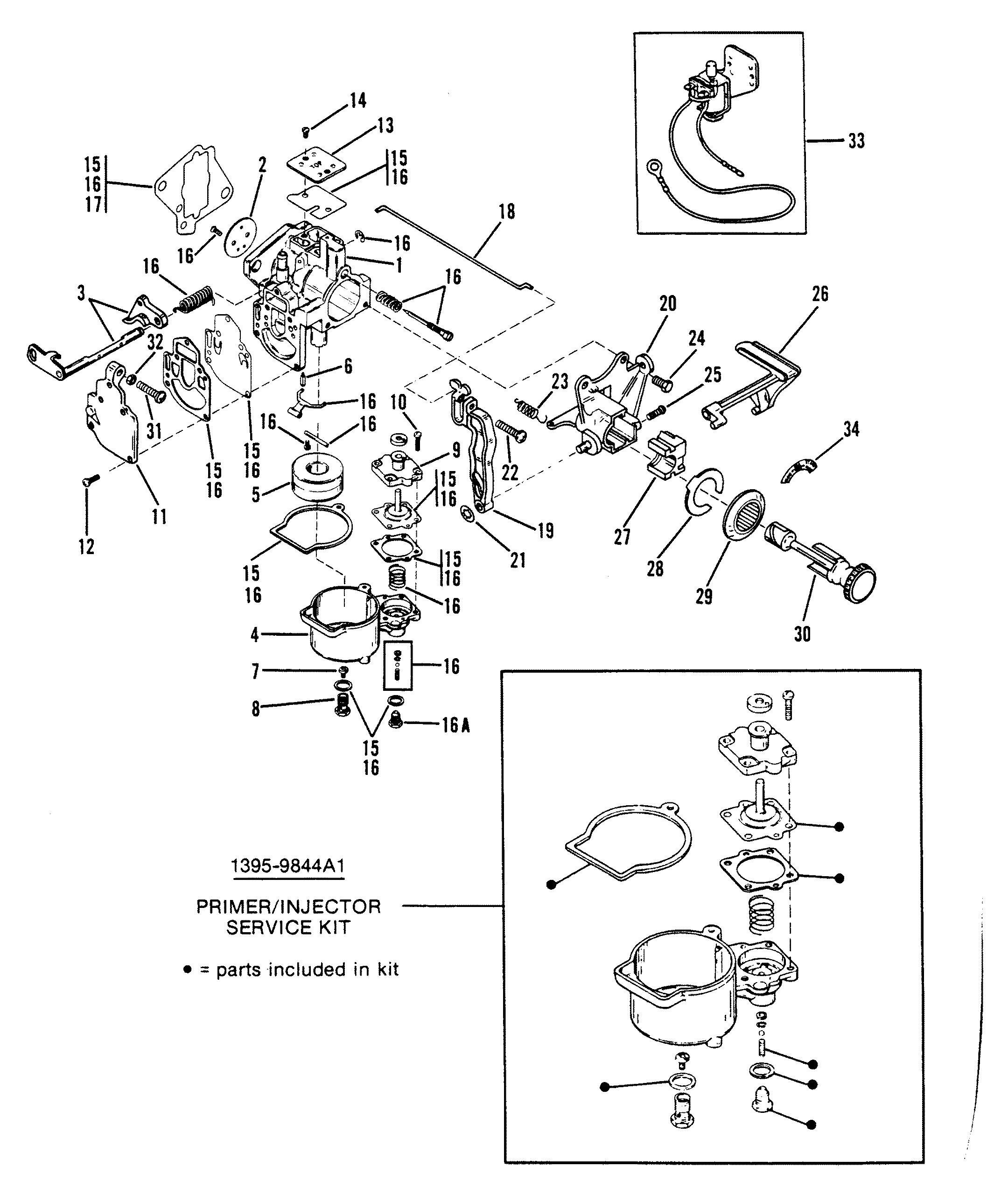 Carburetor Assembly Wmc5a Wmc5b Wmc7 Wmc7a Wmc19 Wmc19a