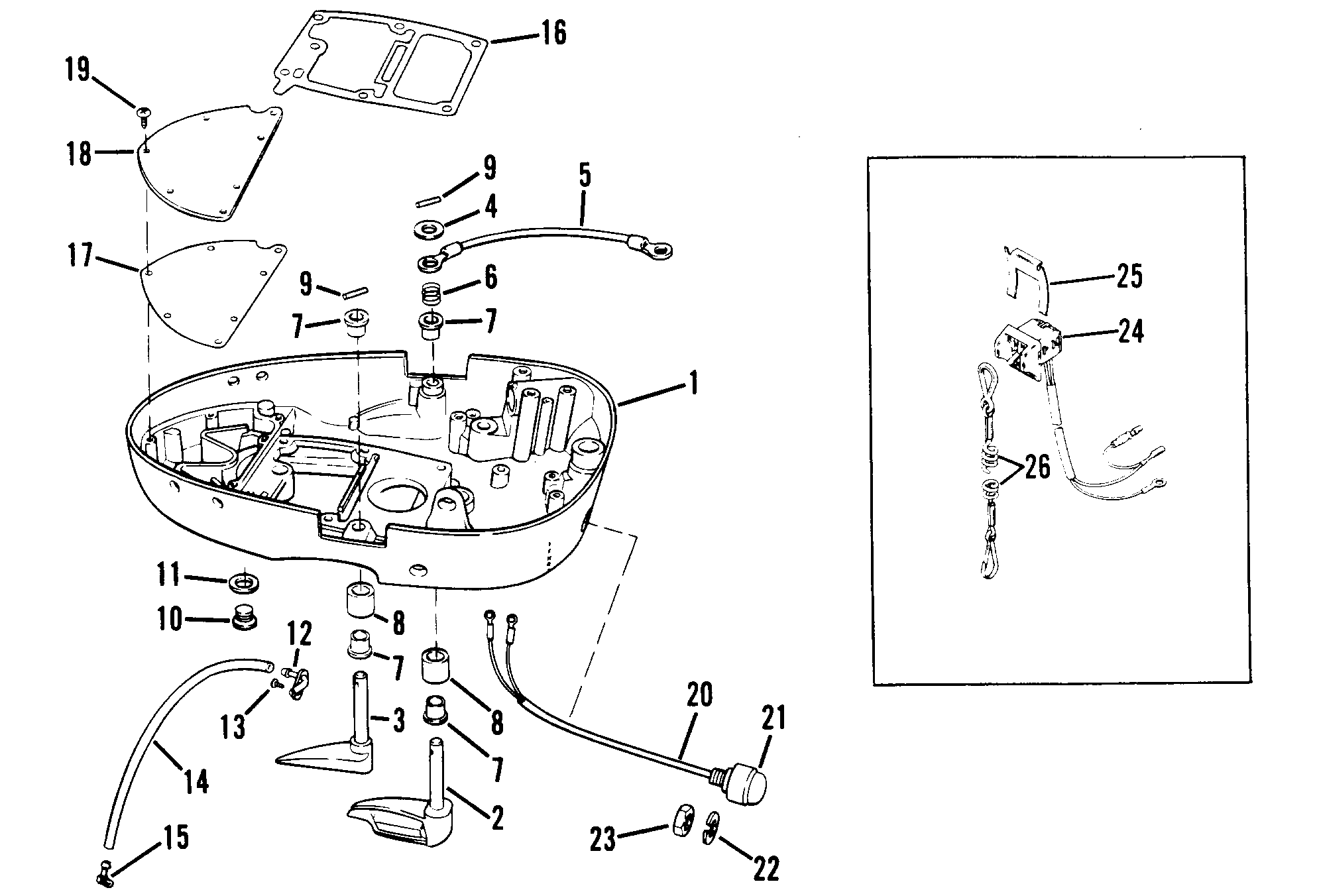 70 Hp Mercury Outboard Schematic