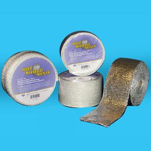 hotshield minis fiberglass muffler manifold wrap