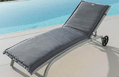 coussin pour bain de soleil et transat a petit prix