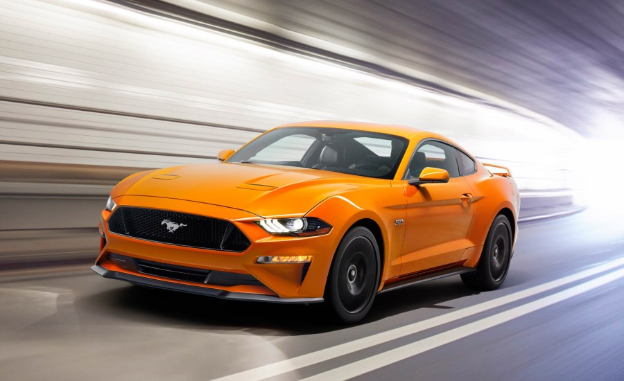 2018 Ford Mustang   Saco  ME   Prime Ford   Saco And like all Mustangs before it  the 2018 model is a powerhouse  The 460  horsepower is a blast in wide open spaces  The 5 0L v8 engine accelerates  above any