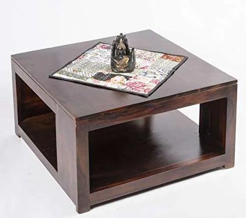 ikiriya sheesham solid wood coffee table center table living room table walnut