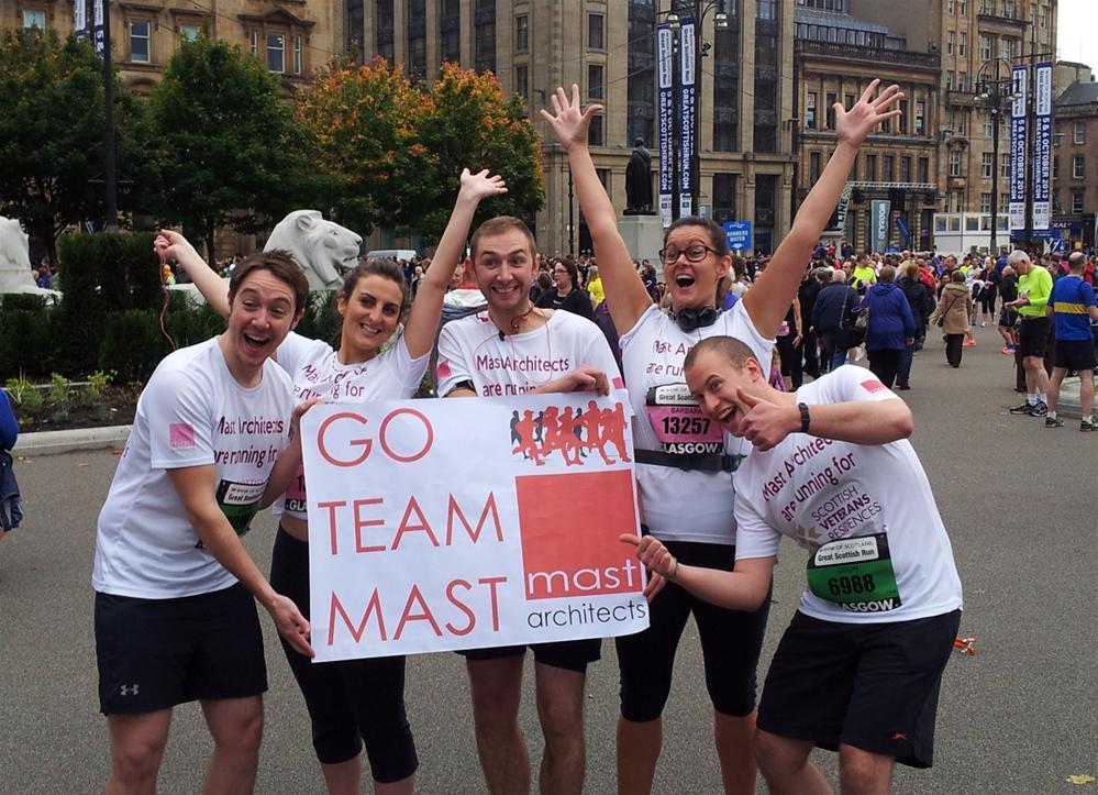 MAST Architects is fundraising for Scottish Veterans ...