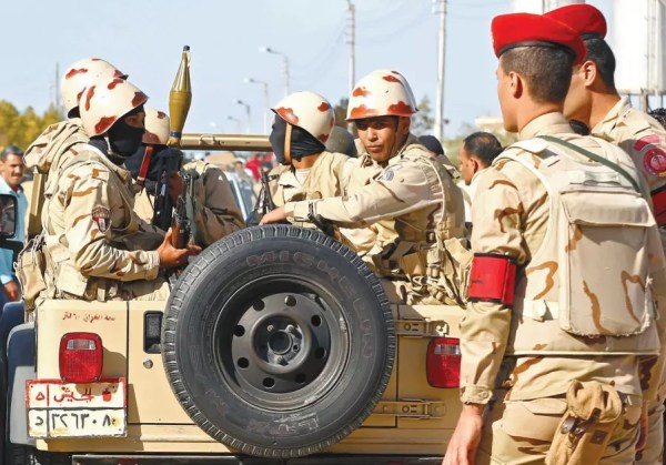 Egyptian air force pounds Sinai militants - Middle East ...