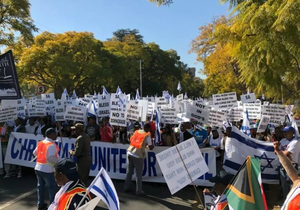 South African Christians stand up for Jewish state ...