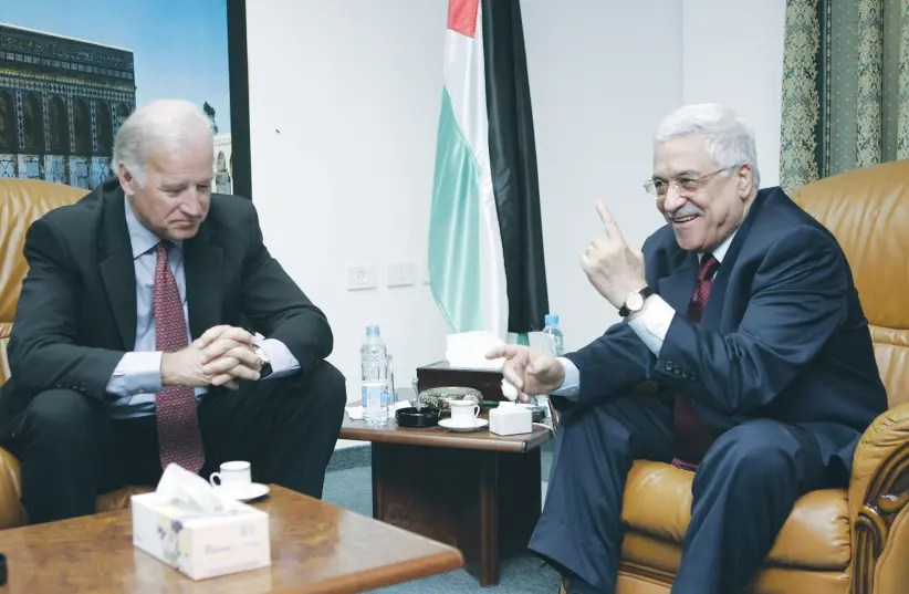 Abbas meets US envoy, calls on Biden admin. to end Israeli 'aggression'