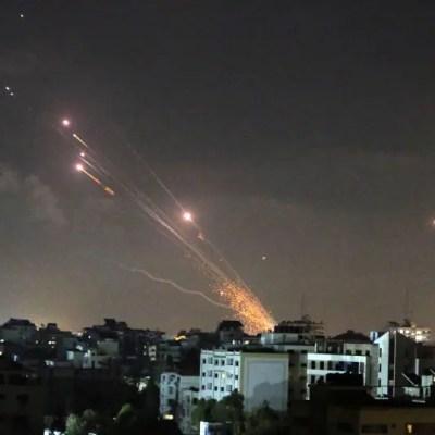 Israel strikes Hamas's tunnel network as rockets aimed at Air Force bases