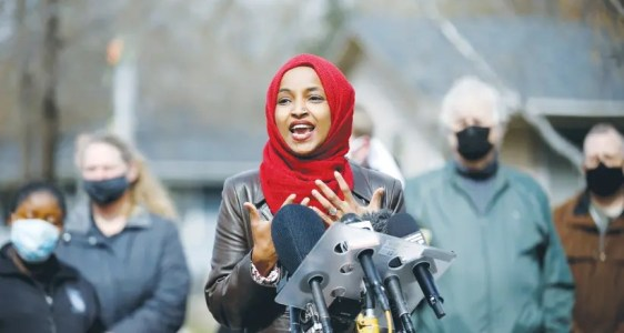 Hamas denounces Rep. Ilhan Omar's comment comparing Israel to Taliban