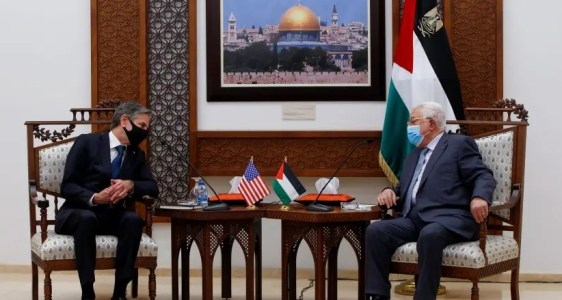 Blinken to ask Congress for $75m. in Palestinian aid