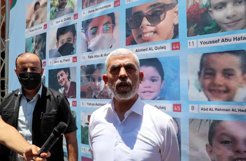 Hamas head Sinwar says no progress on ceasefire after meeting UN envoy