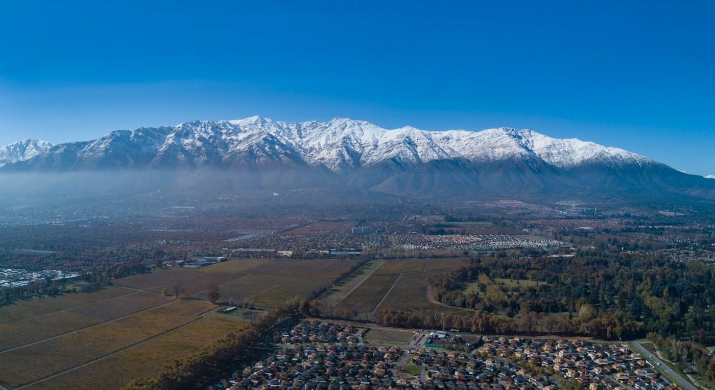 Cordillera de Los ANDES - Santiago sur oriente