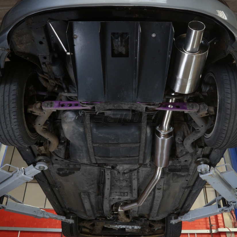 tegiwa 70mm cat back exhaust honda civic type r ep3 01 06