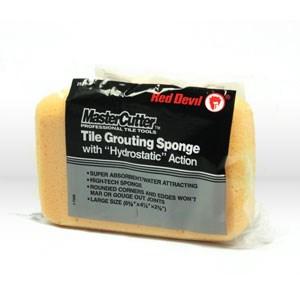 superior industrial supply 2921 red devil grout sponge tile grout sponge