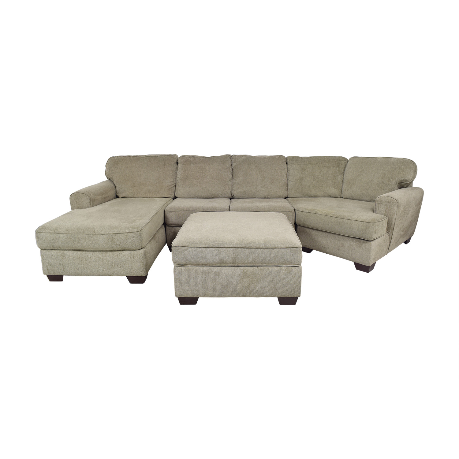 68 off ashley furniture ashley furniture patola park sectional with chaise and cuddler sofas