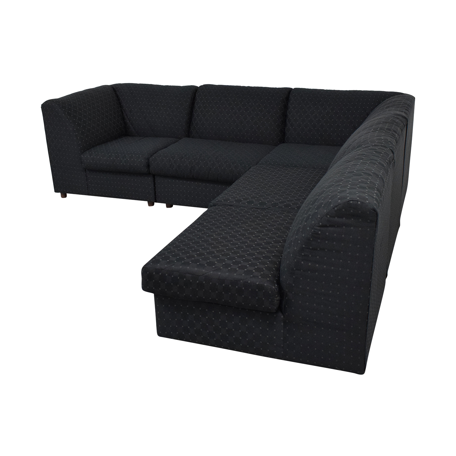 62 off broyhill furniture broyhill furniture corner sectional with ottoman sofas