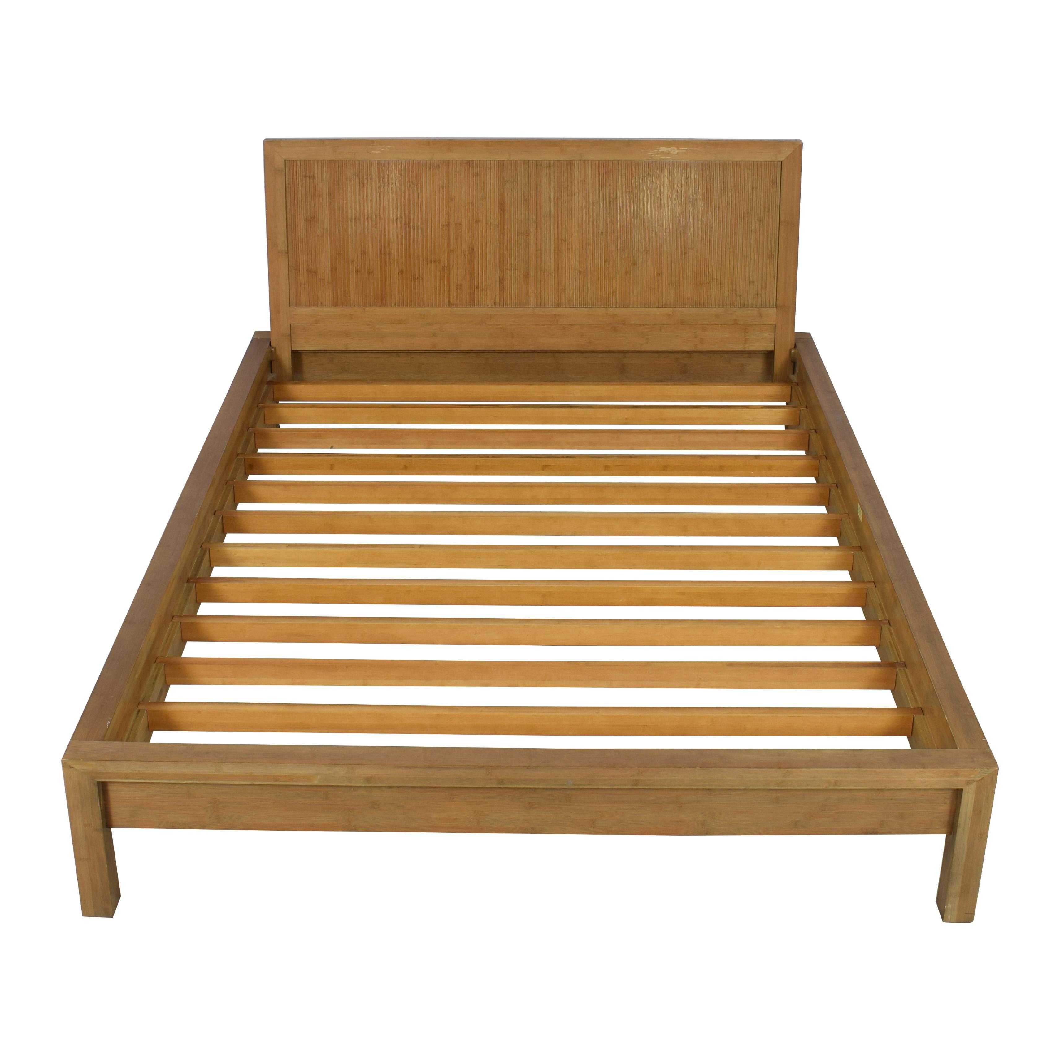 63 Off Room Board Room Board Queen Bamboo Timbre Maria Yee Platform Bed Beds