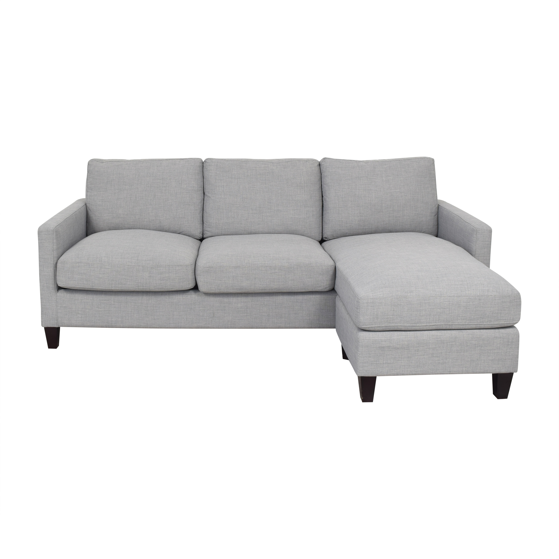 41 off world market world market chaise sectional sofa sofas