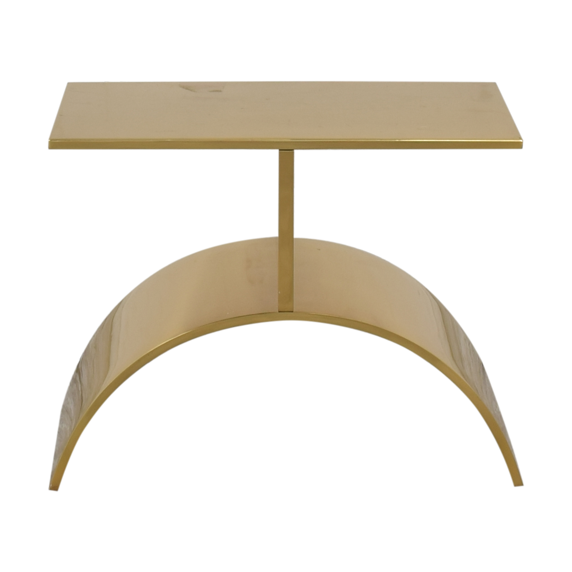32 off cb2 cb2 curve gold side table tables