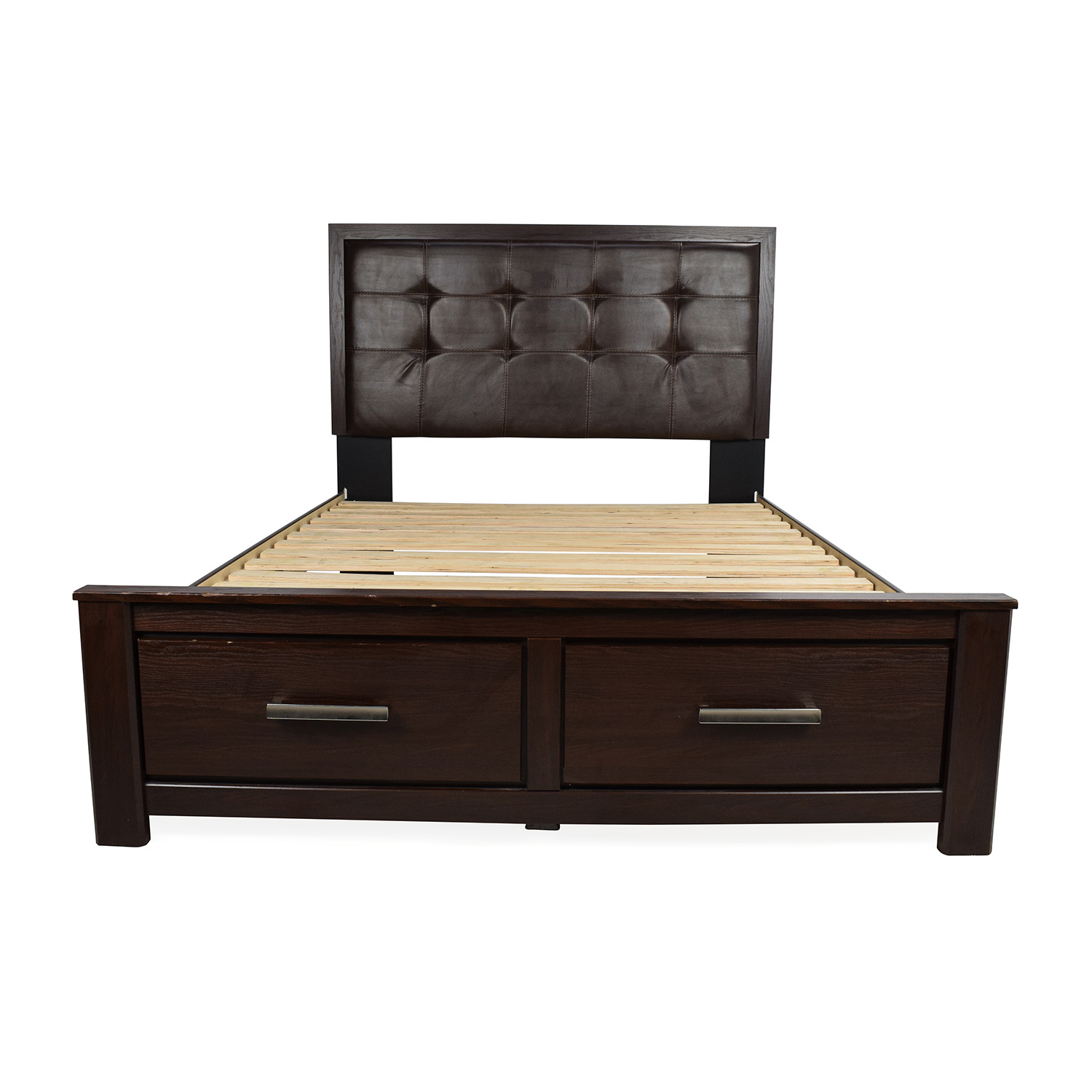 57 Off Ashley Furniture Ashley Furniture Aleydis Queen Storage Bed Beds