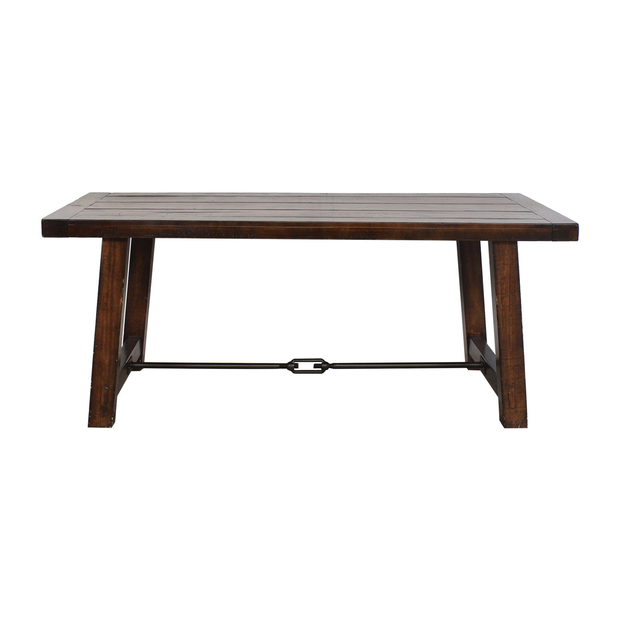 49 off pottery barn pottery barn benchwright dining table tables