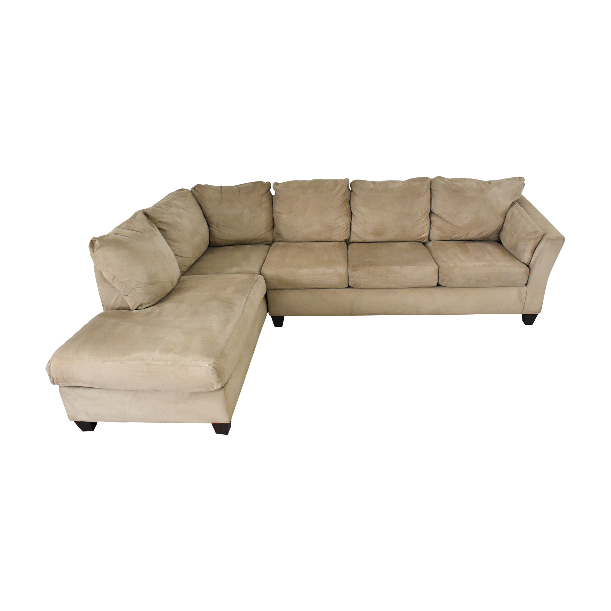 68 off klaussner klaussner sectional sofa sofas