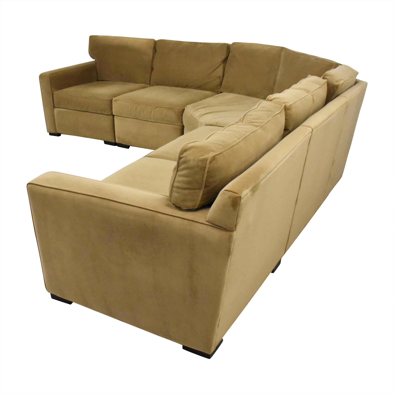 65 off macy s macy s radley five piece sectional sofa sofas