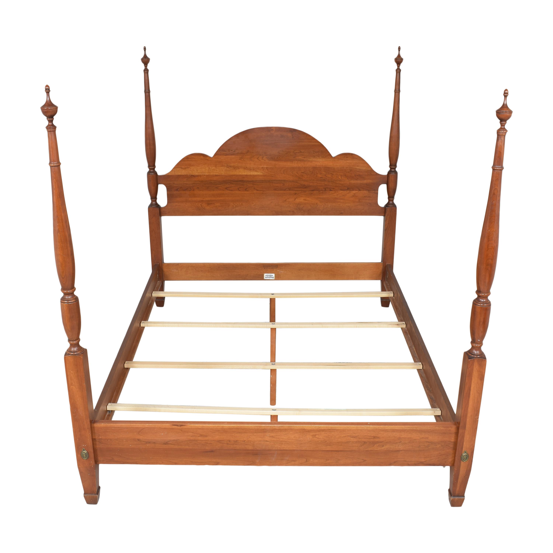 59 off ethan allen ethan allen four poster queen bed beds