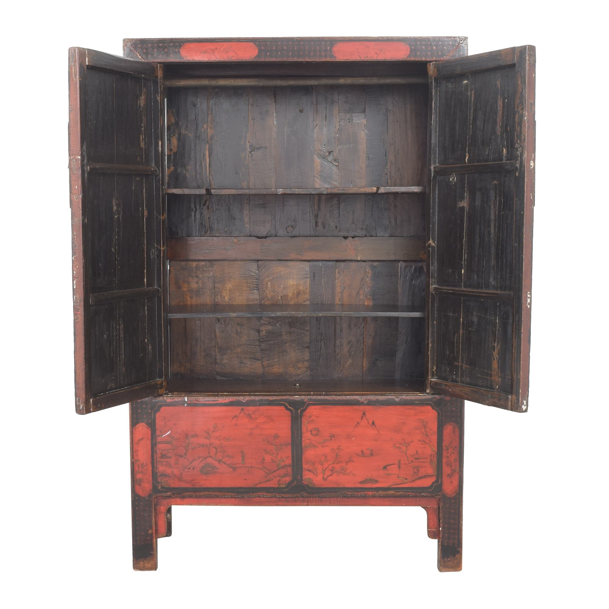 66 off antique chinese lacquered armoire storage
