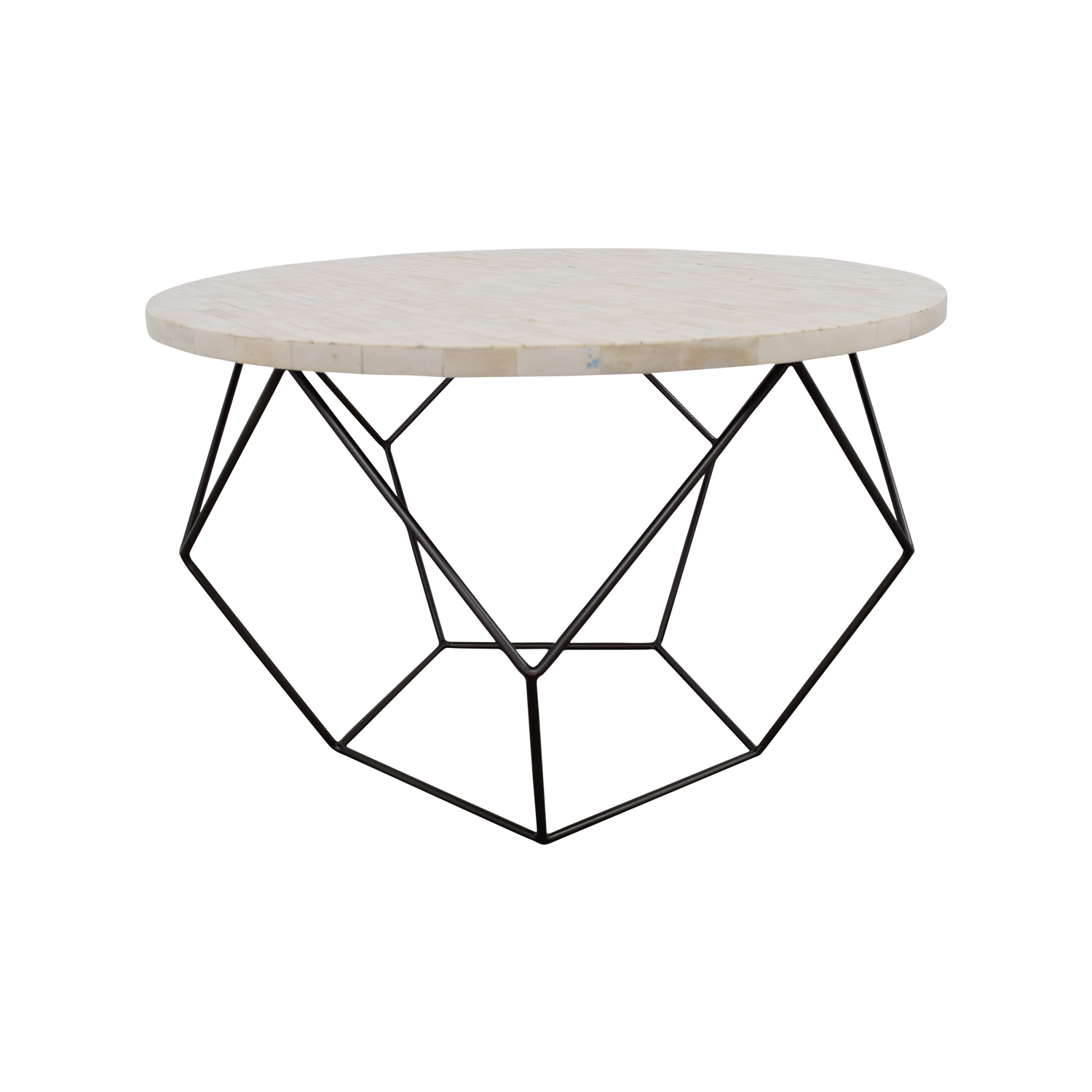 42 off west elm west elm origami bone coffee table tables