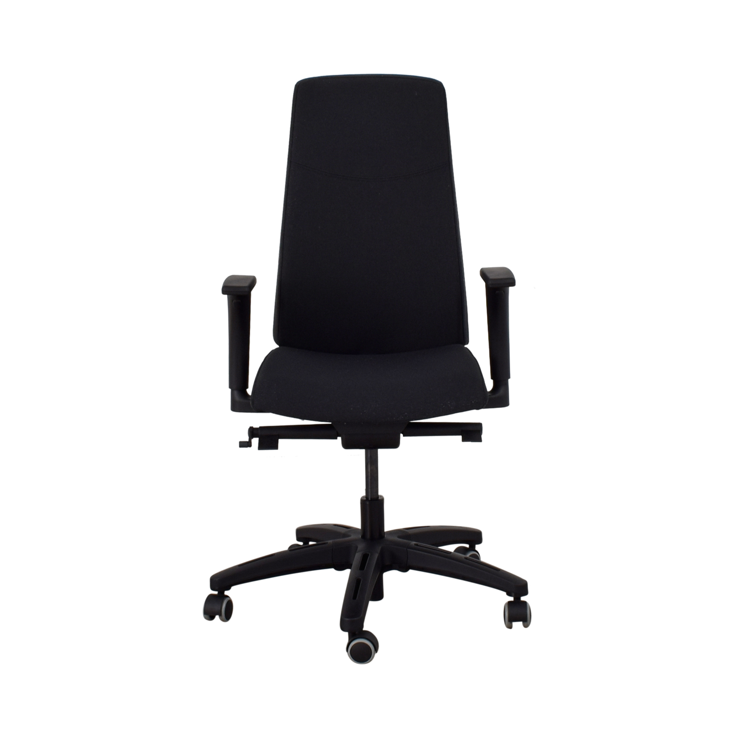 83 Off Ikea Ikea Volmar Grey Office Chair With Arms Chairs