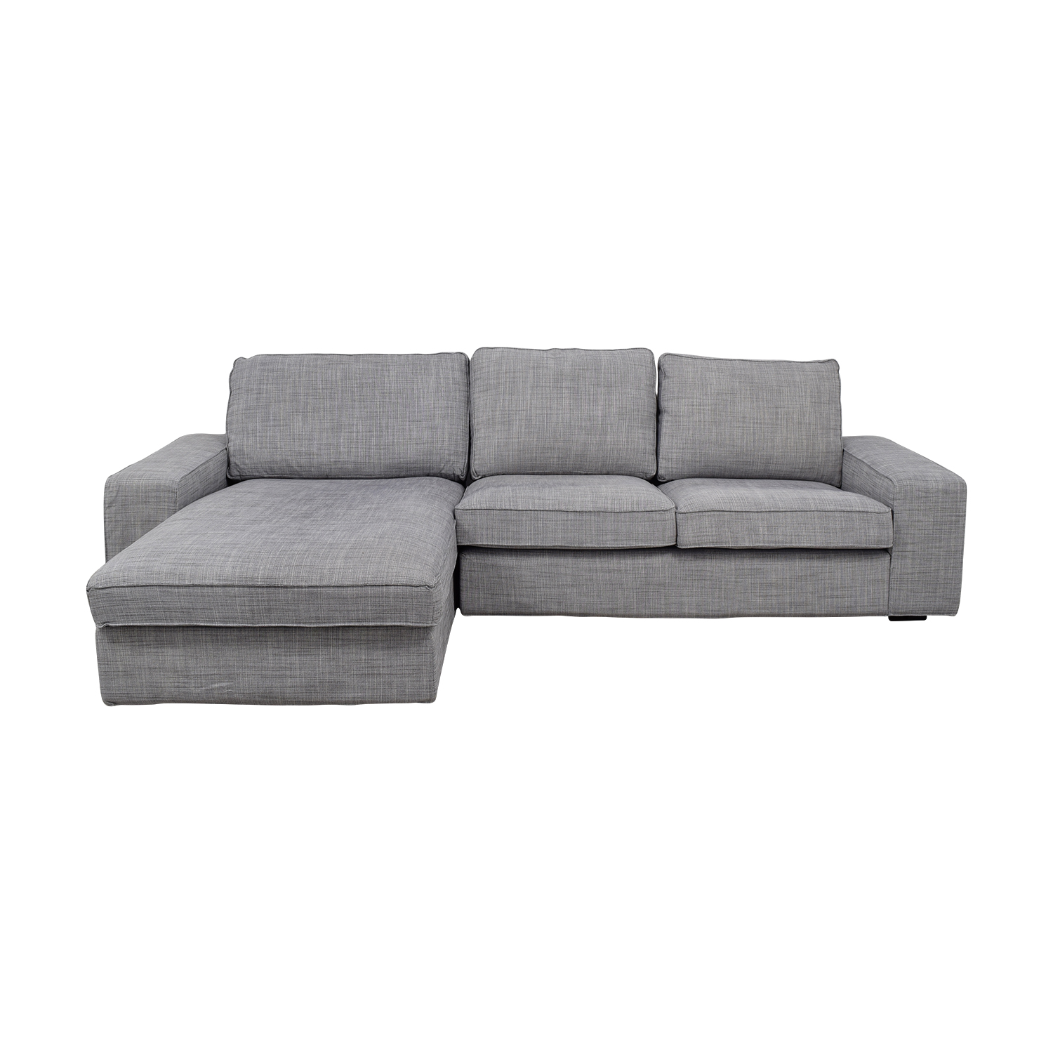 30 off ikea ikea light grey chaise sectional sofas