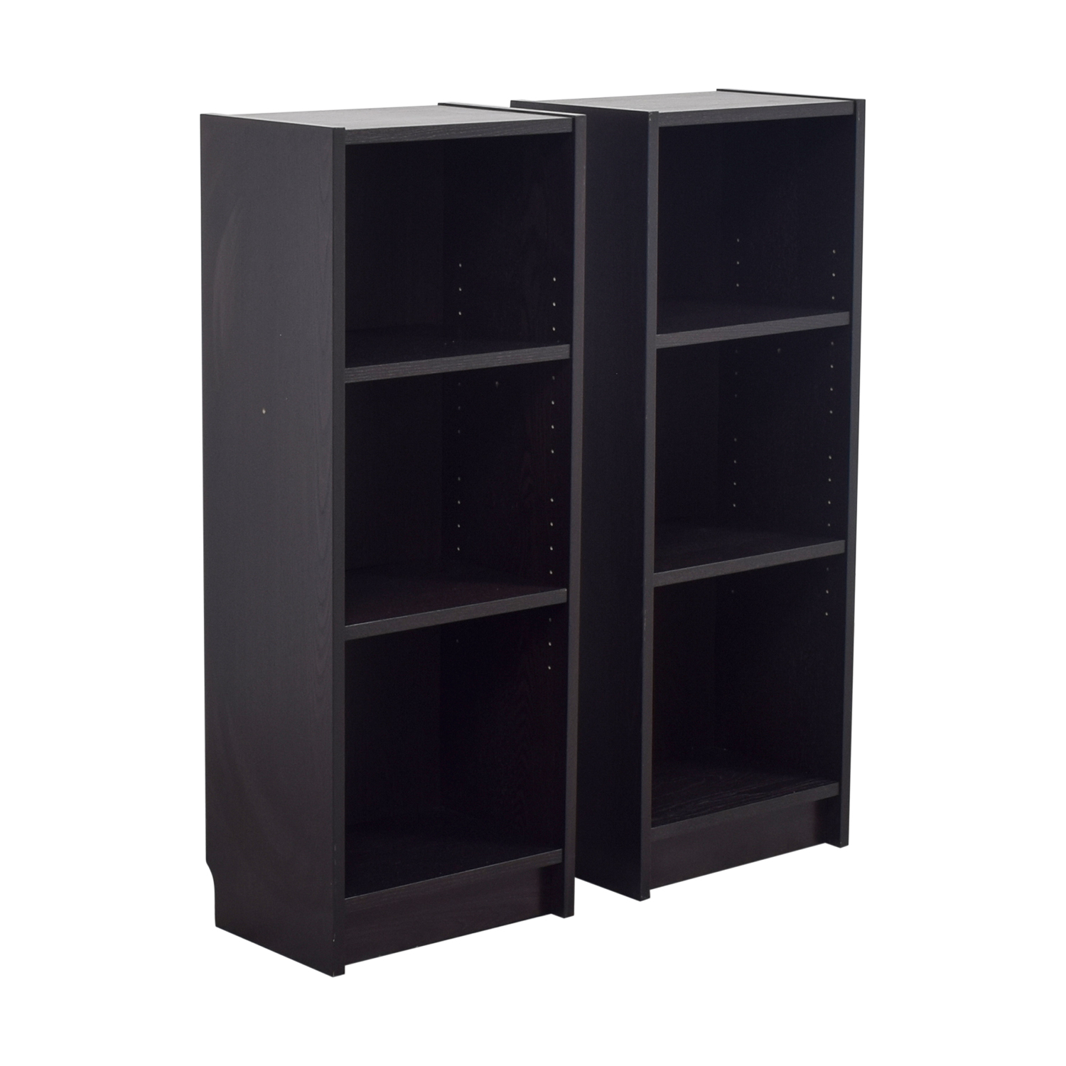 56 Off Ikea Ikea Billy Narrow Bookcases Storage
