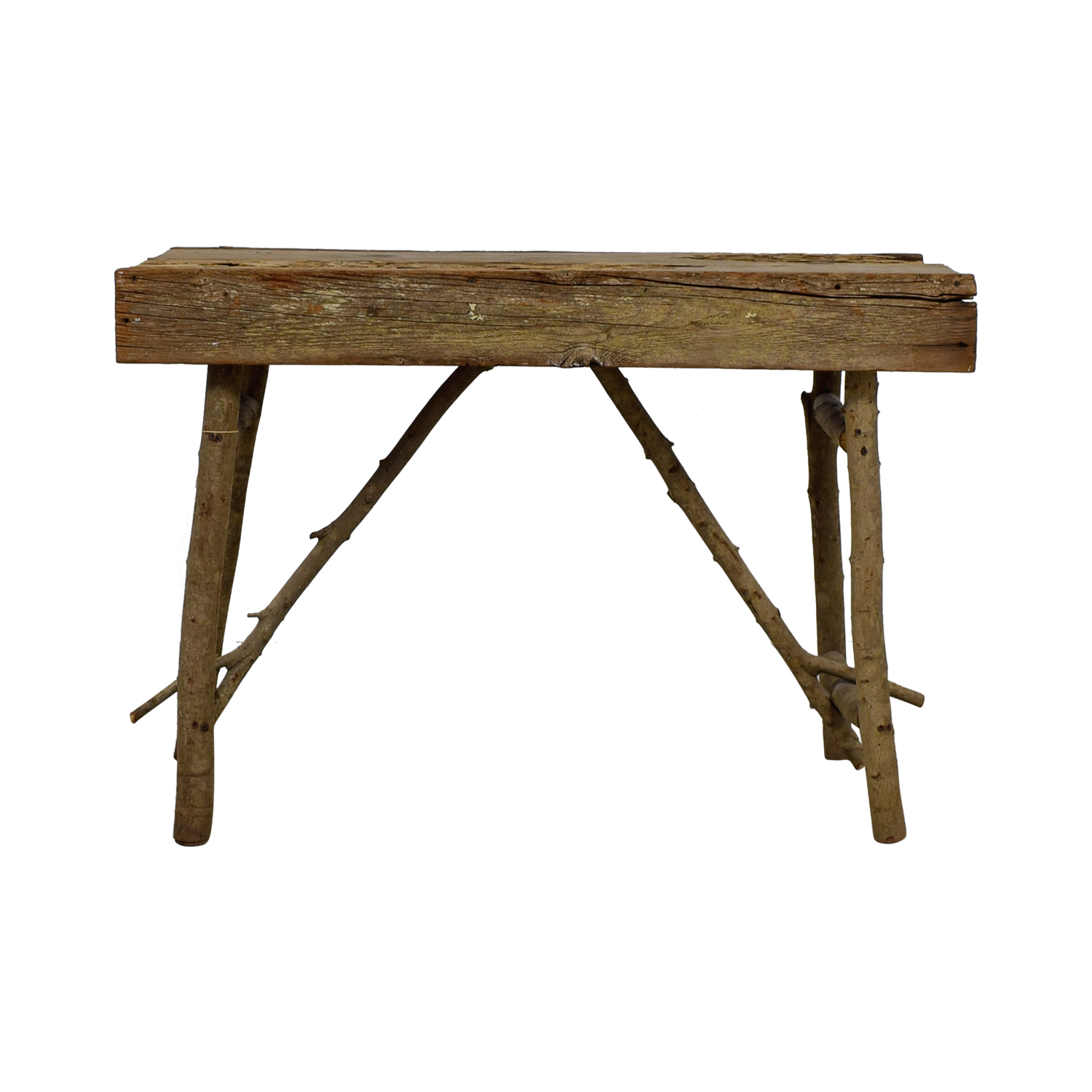90 off rustic wood accent table tables